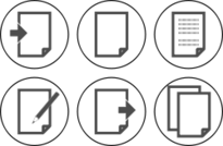 document,page,paper,sheet,write,duplicate,import,export,edit,copy,icon,gray,white,black,b&w