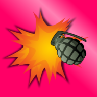 grenade,explosion,bang,boom,explosive,destruction,military,army,aggression