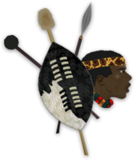 africa,afrika,african,zulu,warrior,shield,spear,tradional,folklore