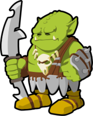 orc,warrior,fighter,skull,goblin,fantasy,rpg,soldier