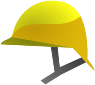 yellow,helmet,construction,protection,safety,icon,illustration,free