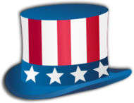 4th july,idependence day,us,usa,america,hat,zylinder,icon,uncle sam,holiday,event
