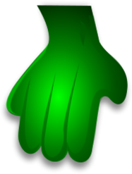 green,monster,hand,vert,monstre,la,main,verde,monstruo,mano