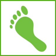 ecology,green,carbon,print,footprint,foot,icon,humor,co2,co2