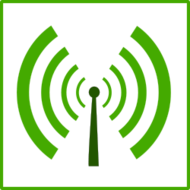 ecology,pollution,wifi,radio,icon,green