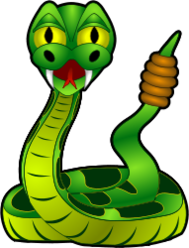 reptile,snake,animal,halloween,poisonous,dangerous,public domain,venom,toxic,jungle,wild,wildlife,zoo,cartoon,comic,media,clip art,rattlesnake