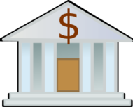 bank builing,column,money,banker