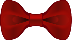 red,bow,tie
