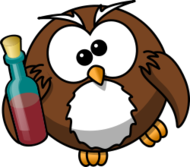 owl,cartoon,bird,funny,animal,drunk,alcohol,beer,vodka,wine,bottle