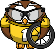 owl,cartoon,bird,funny,animal,bike,glasses,bicycle,cyclist,wheel