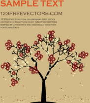 car,card,card vector,flower,free vector,greeting card,nature,tree