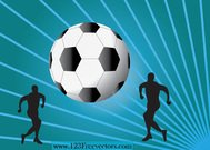 blue stripe background,football,free vector,men,people,silhouette,sport,sports silhouette,wallpaper