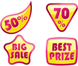 banner,bus,discount,sale,seal,shopping,symbol