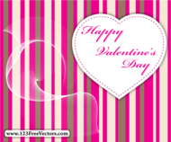 celebration,flowing curve,flowing line,heart,love,striped background,valentines card