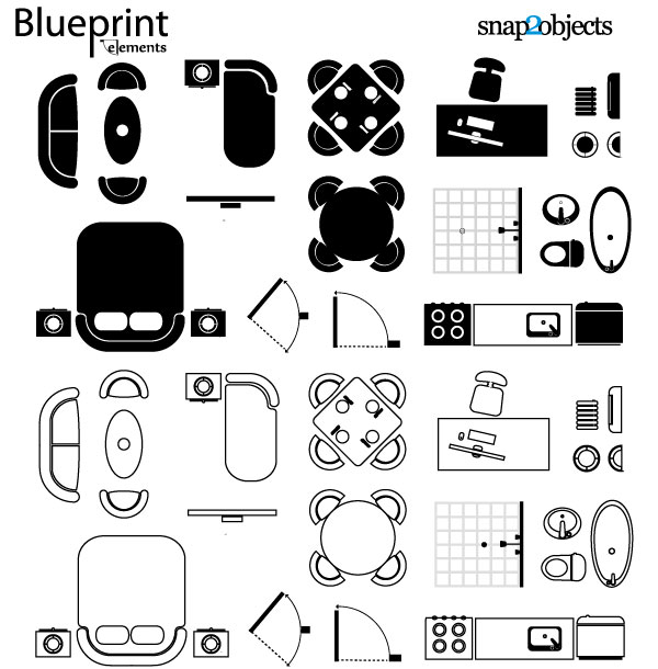 Vector blueprint elements clip arts free clipart clipartlogo elements malvernweather Image collections