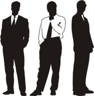 businessmen,character,human,office,people,person,silhouette,suite