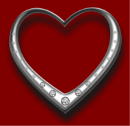 diamond,jewellery,metal,silver,heart,love,valentine,how i did it,photorealistic
