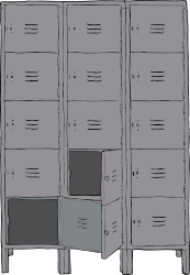 locker,school,gym