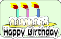 remix,birthday cake,birthday,cake,candle,clip art,media,public domain,image,png,svg