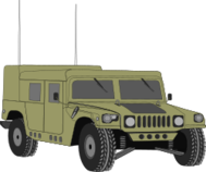 vehicle,transportation,hummer,humvee,military,media,clip art,externalsource,public domain,image,png,svg