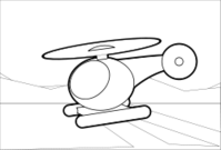 media,clip art,public domain,image,png,svg,cartoon,helicopter,line art,colouring book