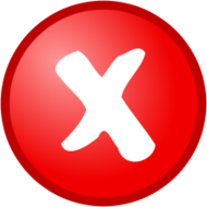 icon,tick,cross,okay,cancel,media,clip art,public domain,image,png,svg