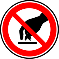 media,clip art,public domain,image,png,svg,risk,prohibited,sign,no touching