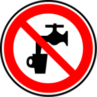 media,clip art,public domain,image,png,svg,risk,prohibited,sign,drinking,water