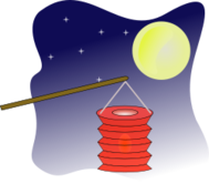 media,clip art,public domain,image,png,svg,lamp,lantern,moon,autumn,holiday