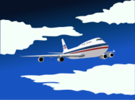 avi,airplane,plane,media,clip art,public domain,image,svg