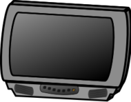 media,clip art,public domain,image,png,svg,household,screen,television,tv set,electrical appliance