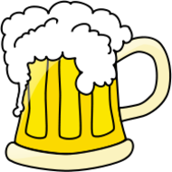 beer,drink,alcohol,beverage,food,party,mug,foam,media,clip art,public domain,image,png,svg
