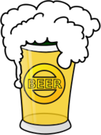 media,clip art,public domain,image,png,svg,beer,drink,alcohol,beverage,food,party,glass,foam