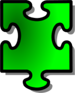 jigsaw,puzzle,game,shape,media,clip art,public domain,image,png,svg,green,piece