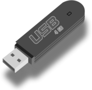 usb,flash,drive,memory,stick,data,storage,computer,media,clip art,public domain,image,png,svg