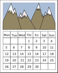 remix,calendar,mountain