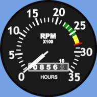 tachometer,cessna,engine guage,tach,rpm,media,clip art,public domain,image,png,svg