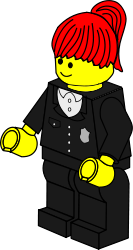 people,toy,figure,minifig,lego,job,policewoman,media,clip art,public domain,image,png,svg