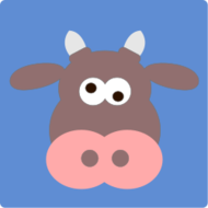 cow,face,cartoon,animal,media,clip art,public domain,image,svg