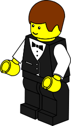 lego,toy,figure,job,waiter,media,clip art,public domain,image,png,svg