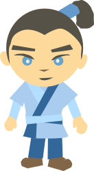 color,cartoon,man,person,japan,manga,media,clip art,how i did it,public domain,image,svg