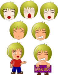 chibi,manga,anime,boy,face,expression,cartoon,media,clip art,public domain,image,svg,expression,inkscape,expression