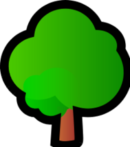 tree,isometric,media,clip art,public domain,image,svg,png