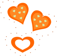 valentine,heart,valentine heart,valentines day,love,love heart,romance,romantic,orange heart