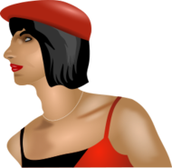 color,transgender,queer,transvestite,face,gender,crossdressing,person,people,wig,subversion,anarchy,cap,media,clip art,public domain,image,png,svg,photorealistic