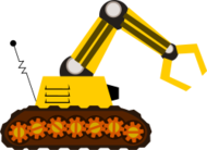 robot claw yellow cartoon,media,clip art,how i did it,public domain,image,svg
