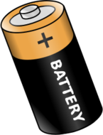media,clip art,public domain,image,png,svg,battery,power,cell,energy,electricity