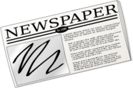 newspaper,paper,symbol,news,journal,text,media,clip art,public domain,image,png,svg