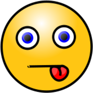 smiley,face,emoticon,emote,tongue,media,clip art,public domain,image,png,svg