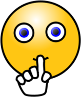 smiley,face,emoticon,emote,silent,quiet,sign,hand,media,clip art,public domain,image,png,svg